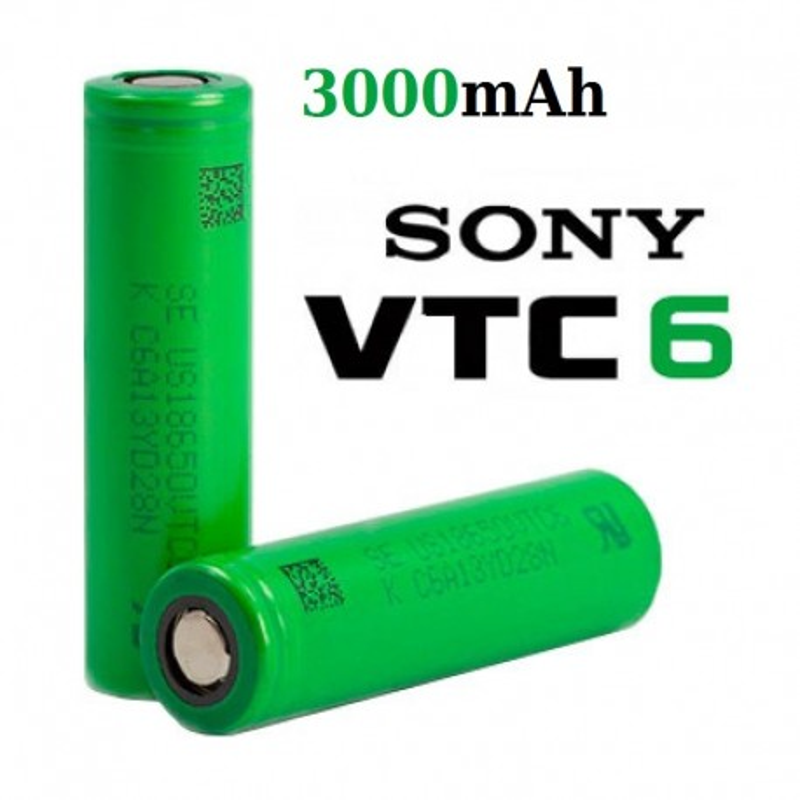 18650 SONY VTC6 300 mAh