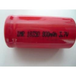 18350 High Drain lithium batteri uden knop