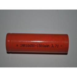 18650 High Drain lithium batteri uden knop