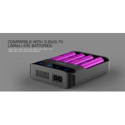 Efest LUSH Q4 Inteligent LED Lader
