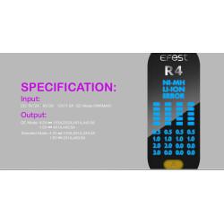 Efest iMate R4 Intelligent QC oplader